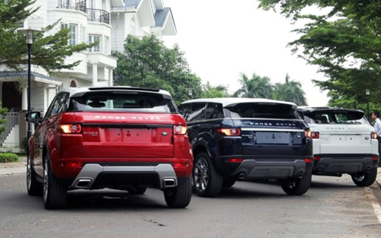 Độ pô vuông cho Range Rover Evoque