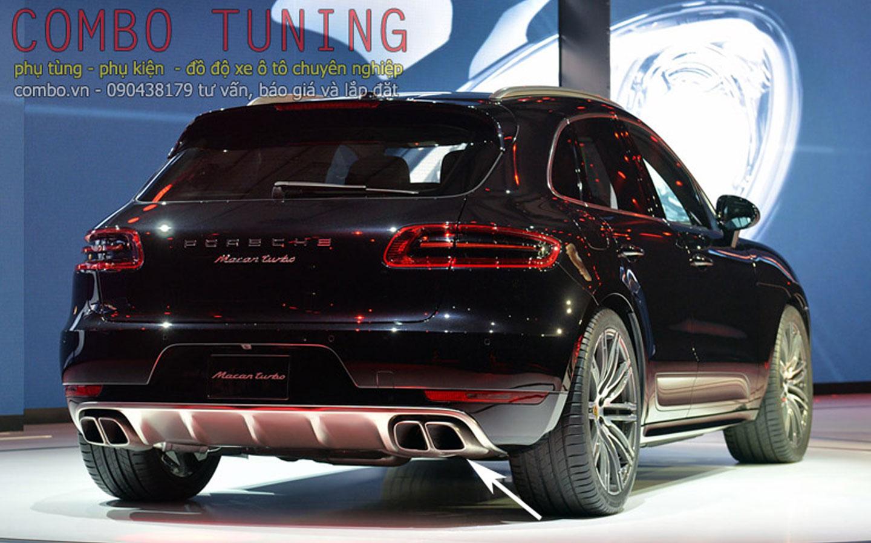 Macan 2014 - Độ đuôi pô Turbo S/ Macan S