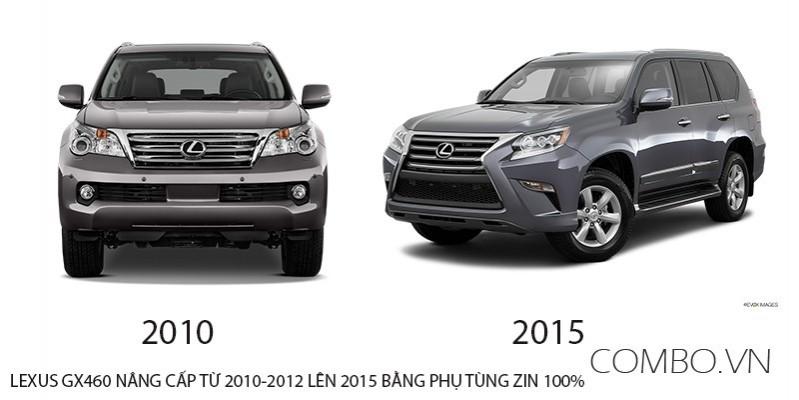 Gói độ lên đời Lexus GX460 2009-2012 thành 2013-2019  từ 100tr hàng chính hãng zin 100%
