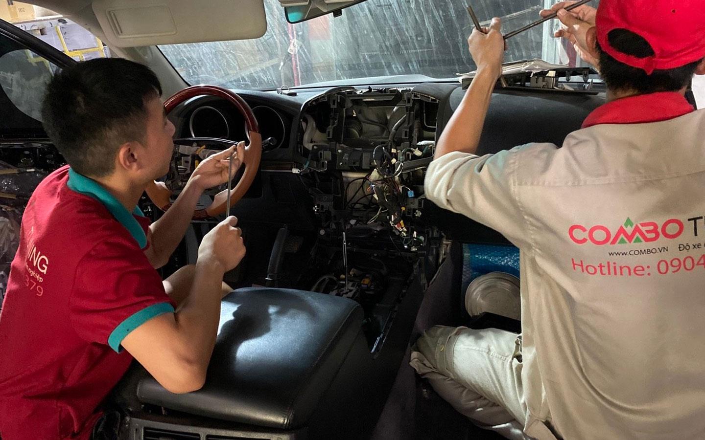 Hệ thống ghế massage chính hãng mbs 4 ghế dành cho Toyota Landcruiser Lc200