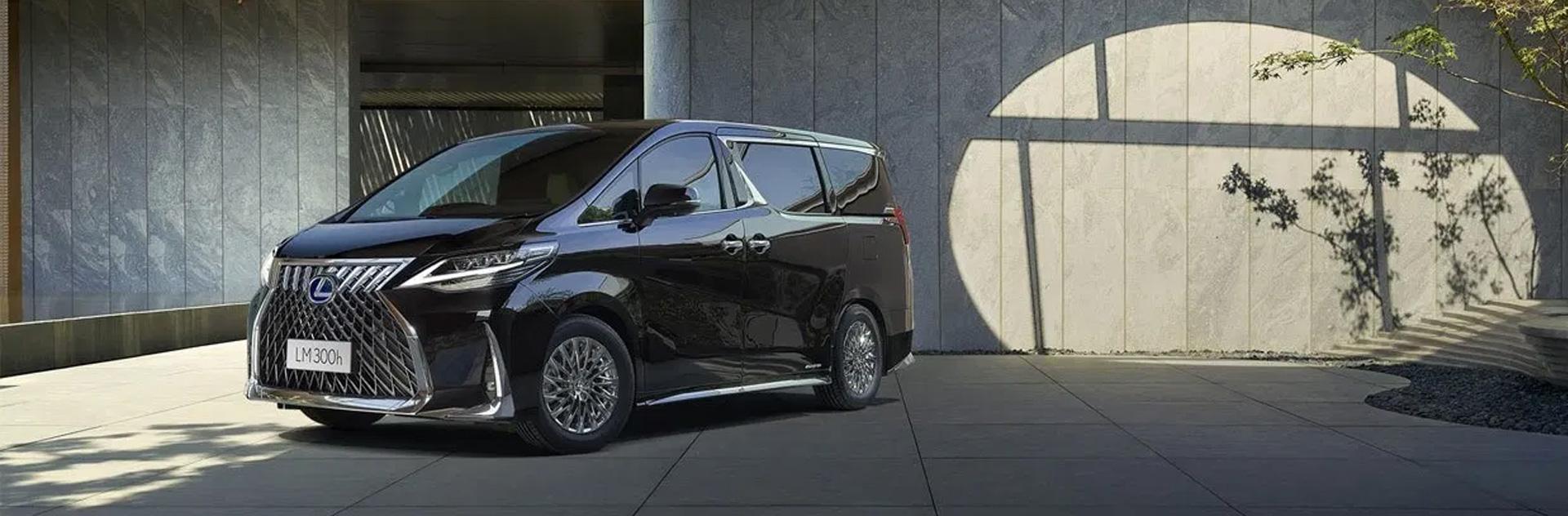 Toyota Alphard độ thành Lexus LM300h tỷ lệ 1:1 ( nội thất và ngoại thất)
