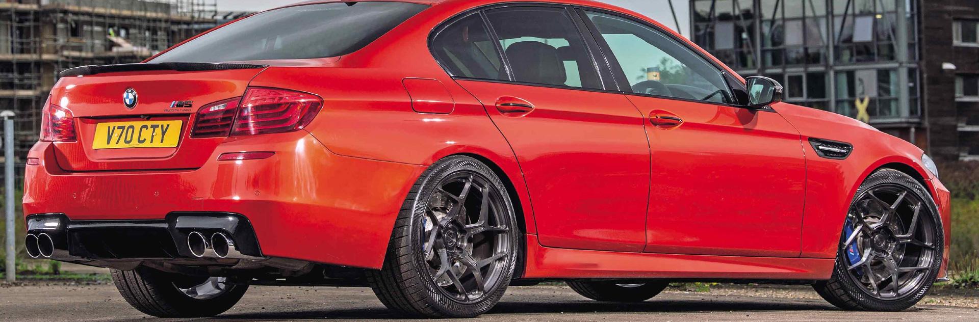 Hệ thống pô độ thể thao cho BMW F10 5 series Eurocar